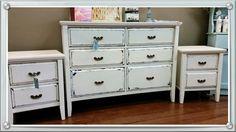 #Dresser & #Bedsides set by Shabby Duck Studio SOLD Busselton Western Australia