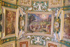Techo en los Museos vaticanos