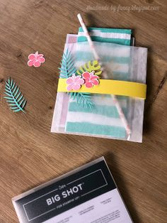 Handmade by Fanny: Tropical Flair- Blog Hop Stamp Impressions