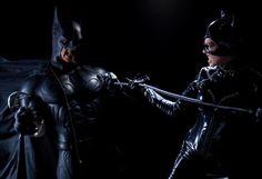 Epic Cosplay - Batman vs Catwoman