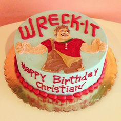 Wreck-It Ralph Birthday Cake by 2tarts Bakery  New Braunfels, TX  www.2tarts.com