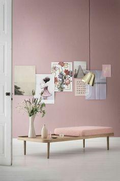 Bildergebnis für wandfarben rosa