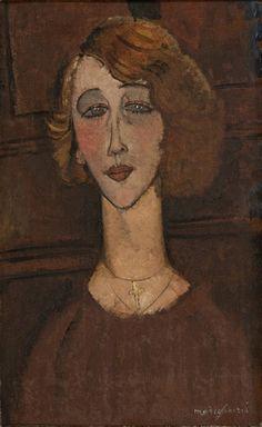 Amedeo Modigliani - Renee - Museu de Arte de São Paulo Assis Chateaubriand - MASP