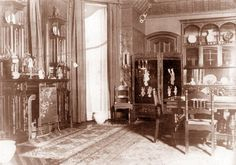 Dining Room of the Elbridge Keith House, 1900 S. Prairie Avenue.