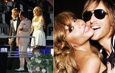 DJ David Guetta & Cathy - renew vows in their 20th anniversary - Ibiza among their sons Tim and Angie