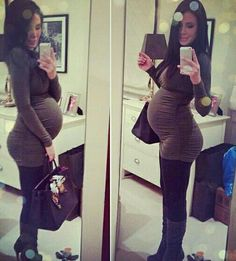 I want to look chic even when i am pregnant.