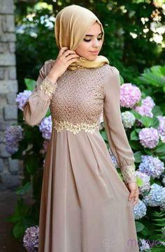 Accessories: Ruched,Zipper,Lined. Season: Four Seaons Islamic Fashion, Muslim Fashion, Modest Fashion, Fashion Dresses, Abaya Designs, Muslim Dress, Hijab Dress, Dress Outfits, Dress Muslim Modern