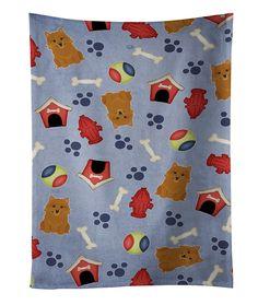 Dog House Collection Norwich Terrier Kitchen Towel BB2633KTWL