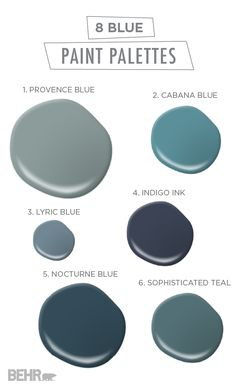 Awesome Most Popular Blue Paint