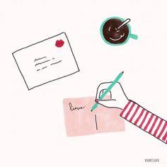 Illustrator Studio Kuukeluus seen on HappyMakersBlog.com   #illustration #illustrator #valentinesday #love #postcard #valentijnskaart #dutchillustrator #dutchilllustratornl #valentine #loveletter Postcard Design, Best Friend Gifts, Paper Art, Valentines Day, Illustration Art, Stationery, Stickers, Photo And Video, Art Prints