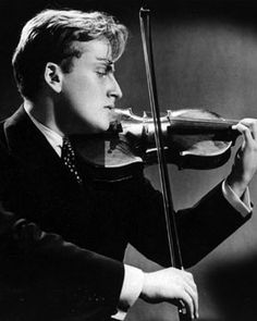 Violinist, Yehudi Menuhin (1916-1999) was an American violinist and conductor who spent most of his performing career in the United Kingdom. He was born in the United States, but became a citizen of Switzerland in 1970, and of the United Kingdom in 1985. He is often considered to be one of the greatest violinists of the 20th century.