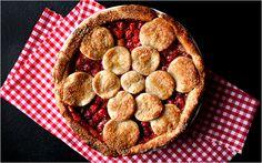 Twice-Baked Sour Cherry Pie