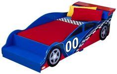 $139.00 (Save 28%) KidKraft Racecar Toddler Bed by KidKraft