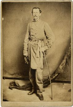 Colonel Hugh Alfred Garland, 1st Missouri Infantry. As captain of Company F (the Jackson Grays) 2nd Regiment, Missouri Volunteer Militia, Garland was among those taken prisoner at Camp Jackson on May 10, 1861. After his parole, Garland enlisted in Confederate service and became a captain in the 1st Missouri Infantry, participating in the battles of Shiloh, Corinth, Grand Gulf, Port Gibson, and Champion Hill. (Continued in comments.)
