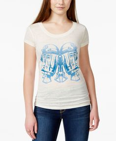 Juniors' Star Wars R2D2 Graphic T-Shirt from Mighty Fine