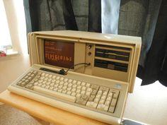 IBM 5155 Portable PC Computer MS-DOS.