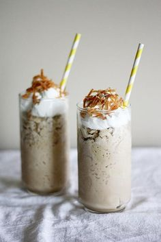 How To Make Frozen Thai Iced Coffee Desserts Recipe