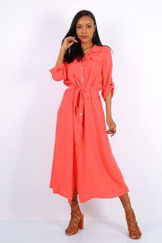Shirt Dress, Shirts, Dresses, Style, Fashion, Dress, Gowns, Moda, Shirtdress