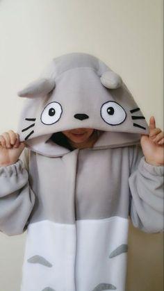 My Neighbor Totoro - Totoro Kigurumi - Adult and Toddler Kigurumi Totoro, Studio Ghibli, Pyjamas, My Neighbor Totoro, Kawaii Clothes, Onesies, Baby, Cute Outfits, Emo Outfits