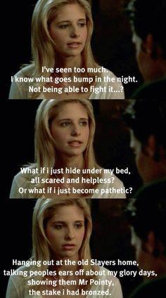 Buffy from Buffy the Vampire Slayer.