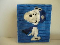 TISSUE BOX COVER SNOOPY FLYING ACE by MOUNTAIN HARMONY CREATIONS 1/2