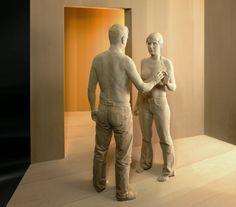 Tutt'Art@ | Pittura * Scultura * Poesia * Musica |: Peter Demetz, 1969 ~ Figurative wood sculptor