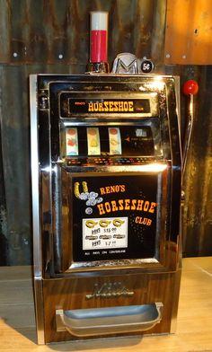Vintage slot machine from reno's horseshoe club juke box, vintage slot machines, nevada homes Cars 1, Slot Cars, Hot Wheels, Arcade, Vintage Slot Machines, Juke Box, Las Vegas, Nevada Homes, Machine Image