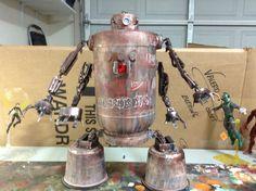 Valerobot giant Assemblage robot