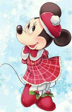 Minnie is dazzling in her winter attire. Walt Disney, Disney Love, Disney Magic, Disney Mickey, Mouse Pictures, Disney Pictures, Mickey Mouse Wallpaper, Disney Wallpaper, Retro Disney