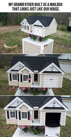Mailbox, copy of house