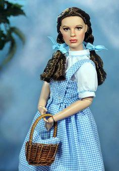 "Incredible Judy Garland ""Dorothy"" doll by Noel Cruz Creations"