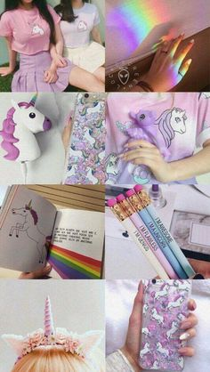 Ai q topsteeer 🦄 Cute Unicorn, Rainbow Unicorn, Unicorn Party, Aesthetic Pastel Wallpaper, Aesthetic Wallpapers, Unicorn Princess, Unicorn Makeup, Unicorn Crafts, Cute Wallpapers