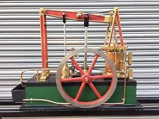 VERY LARGE LIVE STEAM BEAM ENGINE MODEL- Traction Engine/ Stationary Engine