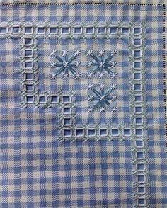 Broderie suisse #bordado #embroidery #ricamo #broderie #bordadotecidoxadrez