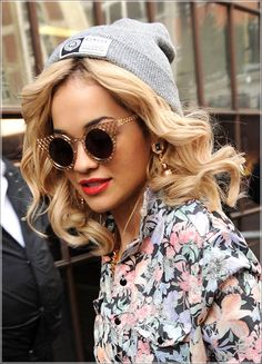 Rita Ora. She,from what I see, is the originator of some styles I'm seeing