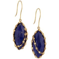 Lana 14k Abra Lapis Drop Earrings ($347) ❤ liked on Polyvore featuring jewelry, earrings, yellow gol, yellow jewelry, 14 karat gold earrings, lana earrings, lana jewelry and flat earrings