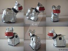 My little Pony Custom Doctor Who K-9 by BerryMouse.deviantart.com on @DeviantArt