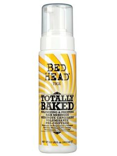 Tigi Bed Head Candy Fixations Totally Baked Volumizing And Prepping Hair Meringue It Actually Smells Like Lemon