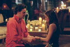 Chandler proposes ~ Chandler Bing (Matthew Perry), Monica Geller (Courteney Cox) ~ Friends ~ Episode Stills ~ Season 6, Episode 25: The One with the Proposal, Part 2