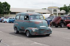 50 Chevrolet COE Suburban (Cab Over Engine) | Flickr - Photo Sharing!