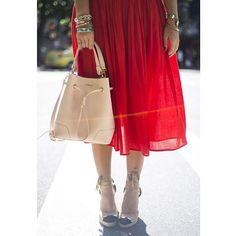 Regram image by Furla, Midi Skirt, Instagram Posts, Skirts, Bucket, Bags, Fashion, Handbags, Moda