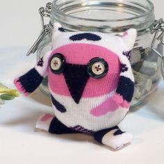 Heart Sock Owl £7.00