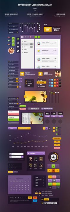 Impressionist UI – Spice Style