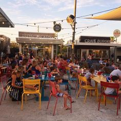 The Hub in WaterSound - Our favorite family friendly spot for good food, drinks and entertainment. Just outside of Rosemary Beach, Florida. 30A