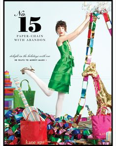 64 New Ideas holiday fashion campaign kate spade