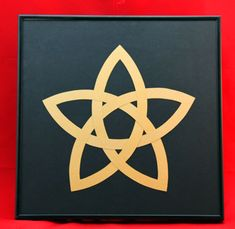 This fun and easy five point Celtic star uses simple paper and a simple shape to become an interesting Celtic design.