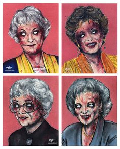 Golden Girls Stuff.  Don't know why Pintereste would only find the worst possible picture.  Some really cute stuff on here.