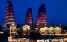 Flame Tower Fairmont Baku