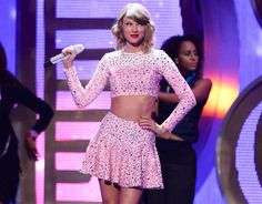 Taylor Swift performs at the iHeartRadio Music Festival at the MGM Grand Garden Arena on September 19, 2014 in Las Vegas, Nevada. (Photo by Al Powers/Powers Imagery/Invision/AP)