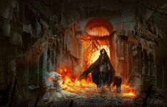 General 2000x1288 fire DeviantArt fantasy art